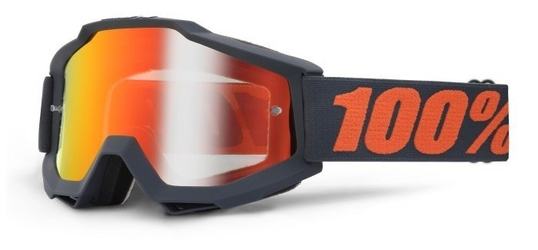 Gogle 100 accuri gunmetal +szybka