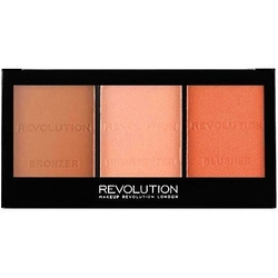 Makeup revolution ultra sculpt  contour kit ultra fair c01, do konturowania twarzy 11g