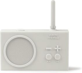 Radio gumowe tykho 2 białe