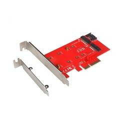 I-tec adapter pci-e sata 2x m.2 card pci-esata