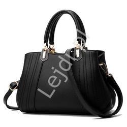 Czarna elegancka torebka | czarne torebki