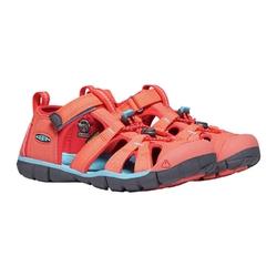 Sandały dziecięce keen seacamp ii cnx - pomarańczowy