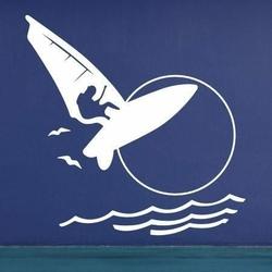 windsurfing 1172 naklejka