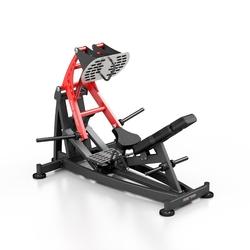Maszyna na wolny ciężar do wypychania na nogi mf-u013 - marbo sport - czarny  antracyt metalic
