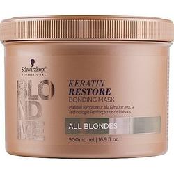 Schwarzkopf blondme keratin restore bonding, maska rewitalizująca 500ml