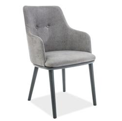 Krzesło do salonu filip welur