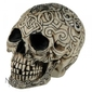 Celtycka czaszka - otwierana szkatułka 12cm