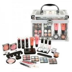 Zestaw makeup trading schmink set transparent - zestaw kosmetyków do makijażu 64,8g