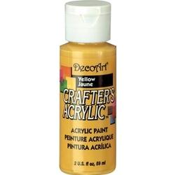Farba akrylowa Crafters Acrylic 59 ml - żółty - ŻÓŁ