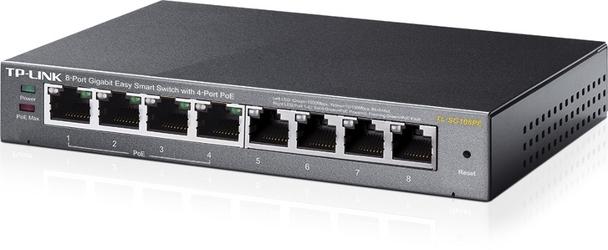 Switch tp-link tl-sg108pe - możliwość montażu - zadzwoń: 34 333 57 04 - 37 sklepów w całej polsce