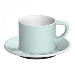 Filiżanka ze spodkiem błękitna Bond Cappuccino Loveramics