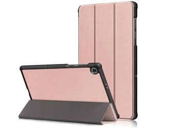 Etui obudowa alogy book cover do lenovo m10 plus 10.3 tb-x606 różowy - różowy