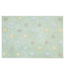 Dywan do prania w pralce tricolor star softmint