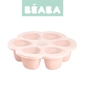 Beaba silikonowy pojemnik do mrożenia 6 x 90 ml  nude