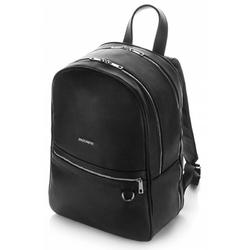 Miejski duży plecak na laptop brodrene vp01 czarny