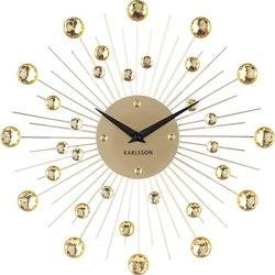 Zegar ścienny sunburst złoty