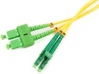 Patchcord światłowodowy sm 0,5m duplex 9125, scapc-lcapc - szybka dostawa lub możliwość odbioru w 39 miastach