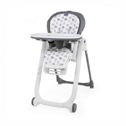 Chicco polly progres5 grey 4 koła krzesełko + pałąk z zabawkami