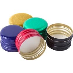 zakrętki do butelek mix kolorów 100 szt. fi 2818