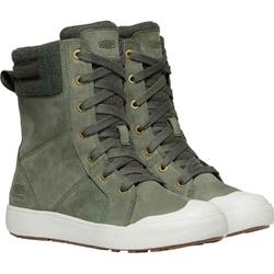 Buty miejskie damskie keen elena boot - zielony