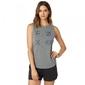 Fox koszulka lady bez rękawów staged heather graph