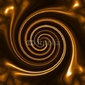 Plakat na papierze fotorealistycznym spiralny wir
