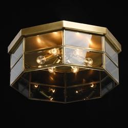 Lampa sufitowa zewnętrzna z mosiądzu ip44 corso chiaro street 802011506