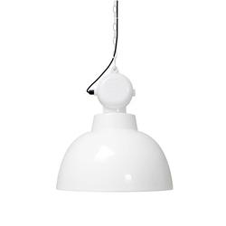 Lampa factory m biała hk living