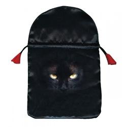 Woreczek satynowy black cat