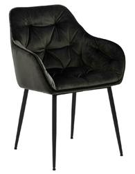 Krzesło brooke vic greybrown - szary ciemny