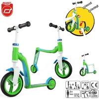 Highwaybaby hulajnoga rowerek 2w1 green