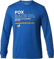 Fox koszulka z długim rękawem analog tech royal bl