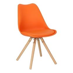 Krzesło norden star pp pomarańczowe 1614 - pomarańczowy