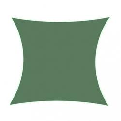 Żagiel przeciwsłoneczny daszek zacieniacz 5x5 m ciemny zielony