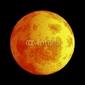 Obraz na płótnie canvas trzyczęściowy tryptyk zaćmienie księżyca