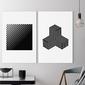 Zestaw dwóch obrazów - minimalist shapes , wymiary - 60cm x 90cm 2 sztuki