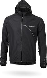 Kurtka kross hardshell rainy jacket black