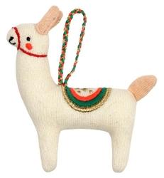 Zawieszka świąteczna - ozdoba choinkowa meri meri - lama