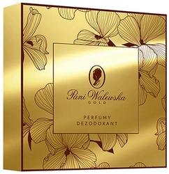 Pani walewska, gold, zestaw dezodorant + perfumy