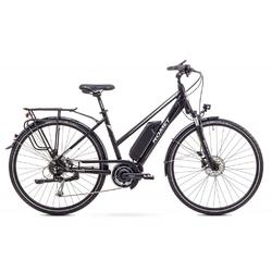 Rower elektryczny romet ert 100d, kolor czarny, rozmiar 18