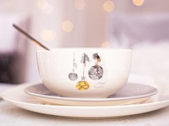 Salaterka  miseczka porcelanowa święta boże narodzenie altom design moja gwiazdka 13 cm, dekoracja bombka