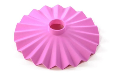 Abażur do żarówki Cappello różowy