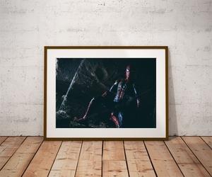 Iron spider-man ver2 - plakat wymiar do wyboru: 84,1x59,4 cm