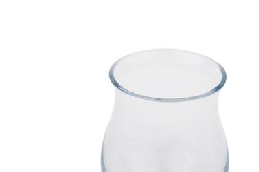 Świecznik szklany h-11 cm