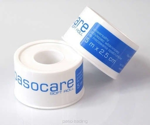 Pasocare soft roll przylepiec włókninowy do mocowania opatrunków 5m x 2,5cm