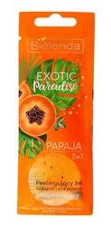 Bielenda exotic paradise żel peelingujący do ciała 2w1 regenerujący papaja 25g
