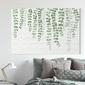 Obraz na płótnie - minimalist plants , wymiary - 115cm x 170cm