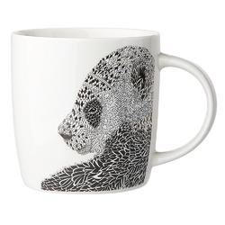 Kubek do kawy i herbaty porcelanowy altom design animal  zwierzęta 300 ml, dekoracja panda