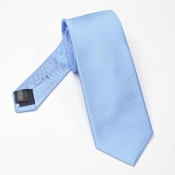 Błękitny krawat jedwabny