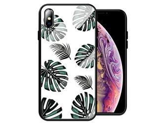 Etui alogy glass armor case do apple iphone xxs liście - liście